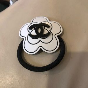 Authentic Chanel ponytail holder